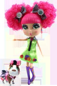 Cutie Pops: Куклы и собачки с украшениями на кнопочках
